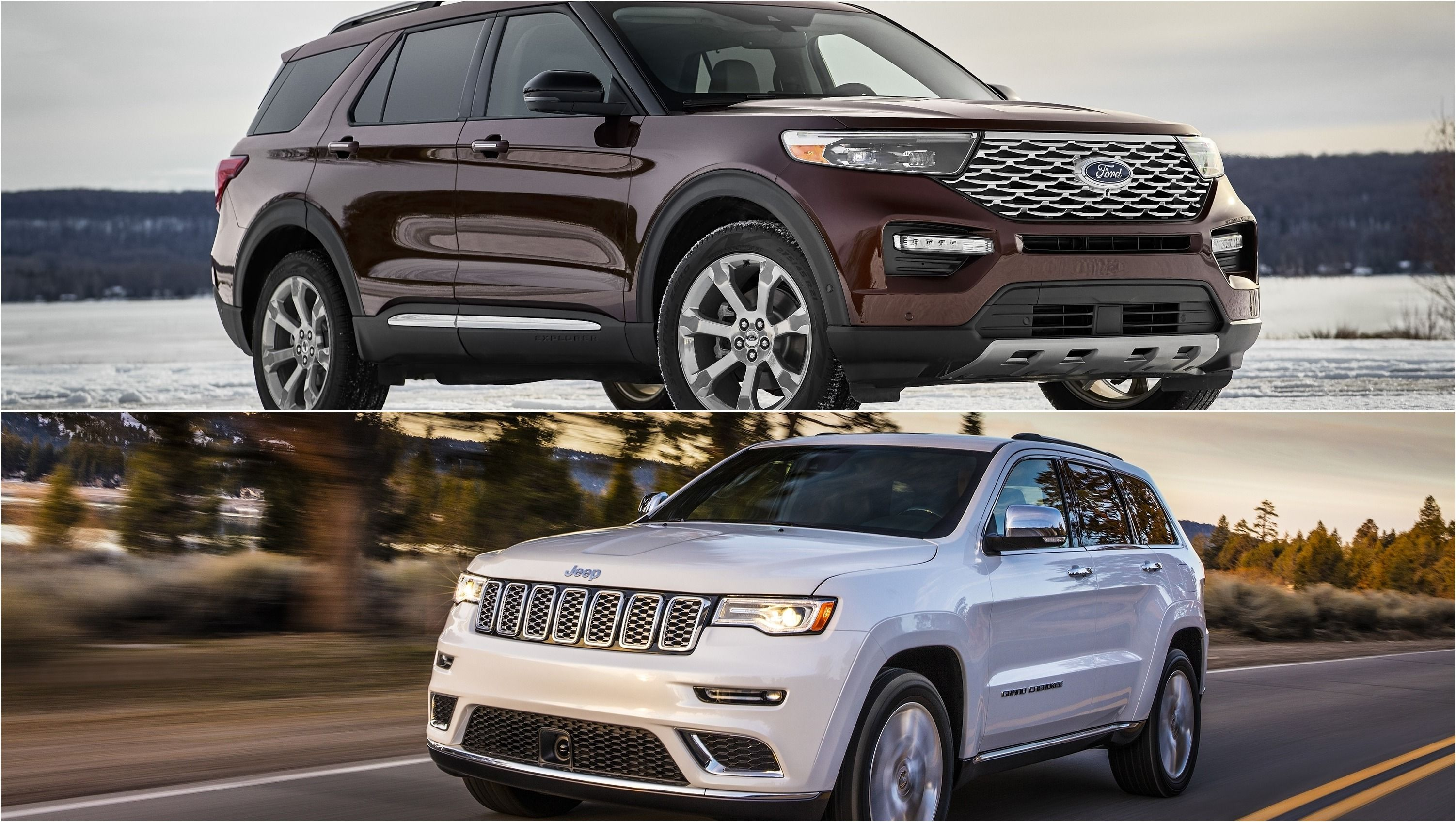 2020 Ford Explorer Vs 2019 Jeep Grand Cherokee Ford Explorer