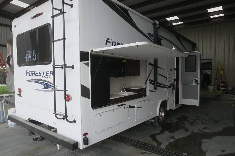 New forest river motorhome 2019 forester exterior kitchen