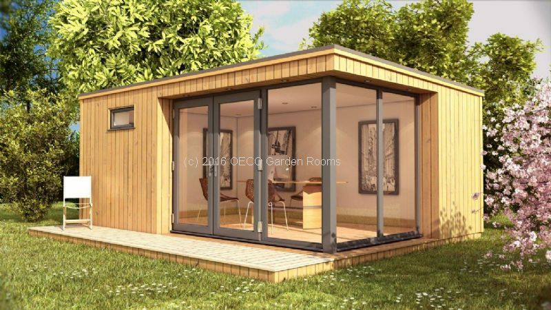 Corner Clic Garden Offices From Oeco