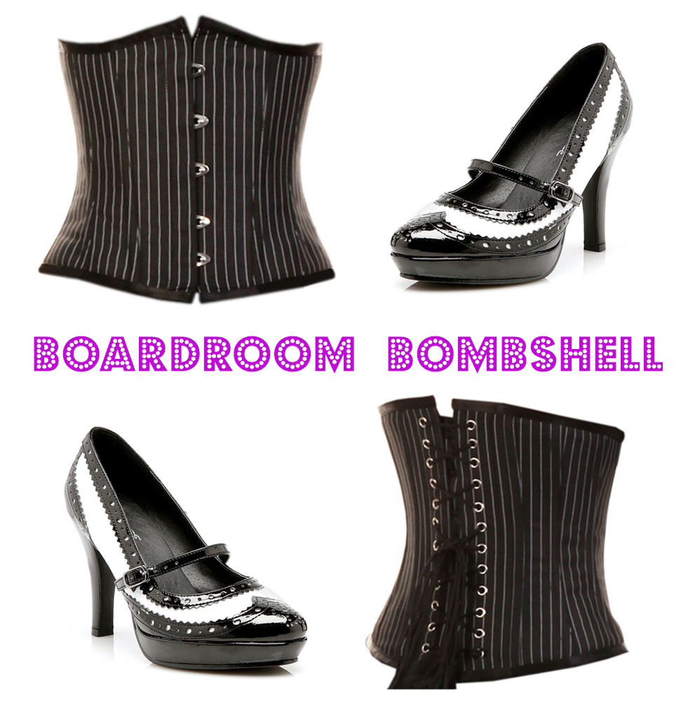 Boardroom Bombshell! Srsly, you could blow up the boardroom with these!