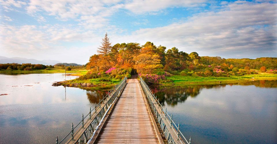 Relais & Chateaux - There is a certain magic about staying on a private island and Eriska is no exception. Isle of Eriska, Scotland #relaischateaux #landscape