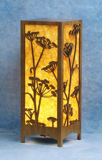table lamps decorative laser cut wood lamp - Decorative Lamps