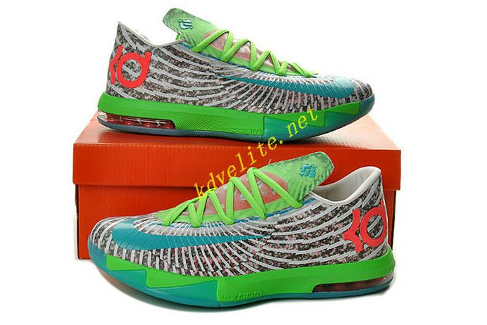 Gamma Blue Flash Lime Nike KD VI Dusty Grey Electric Green Dynamic Blue  618216 400  6c97cafbf
