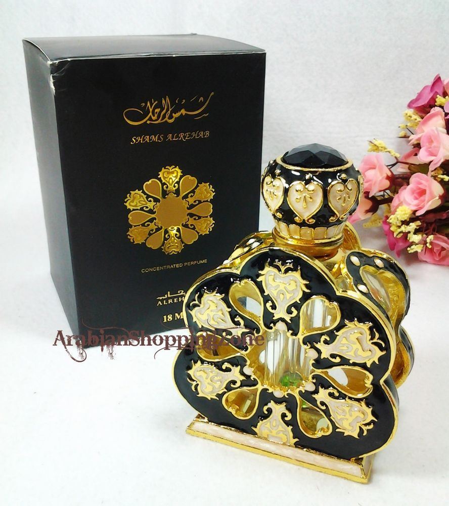 Shams Al Rehab 18ml Unisex Arabian Perfume Oil Saudi Vial Parfum Tester All Varian Islamic Gift Alrehab