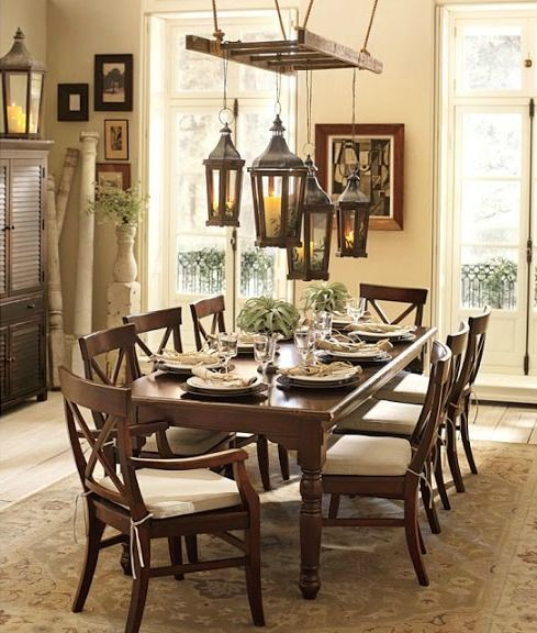 25 Unique Ways To Decorate With Vintage Ladders  Pottery Barn Inspiration Dining Room Sets Pottery Barn Design Ideas