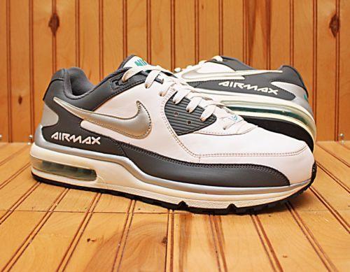 2011 Plata Nike Air Max Wright Blanco Gris Plata 2011 Talla 13 317551 124 4a06c3