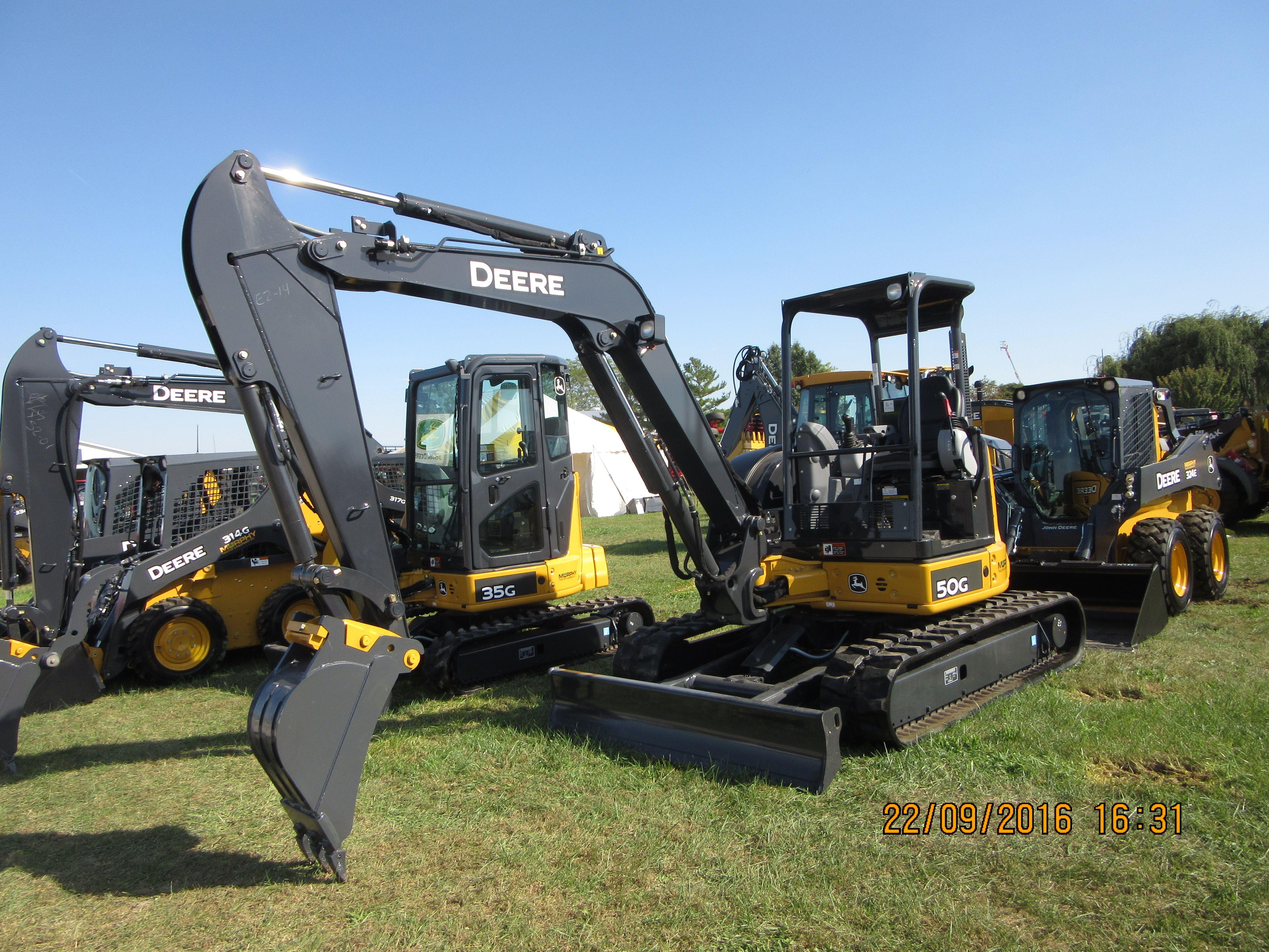 John Deere 50G | John Deere CE-my pictures | Tractors, Vehicles