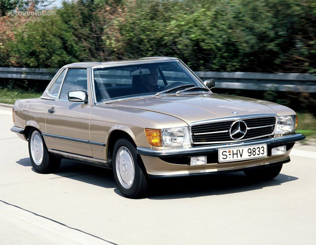 MERCEDES BENZ SL (R107) (1971 - 1989) - autoevolution