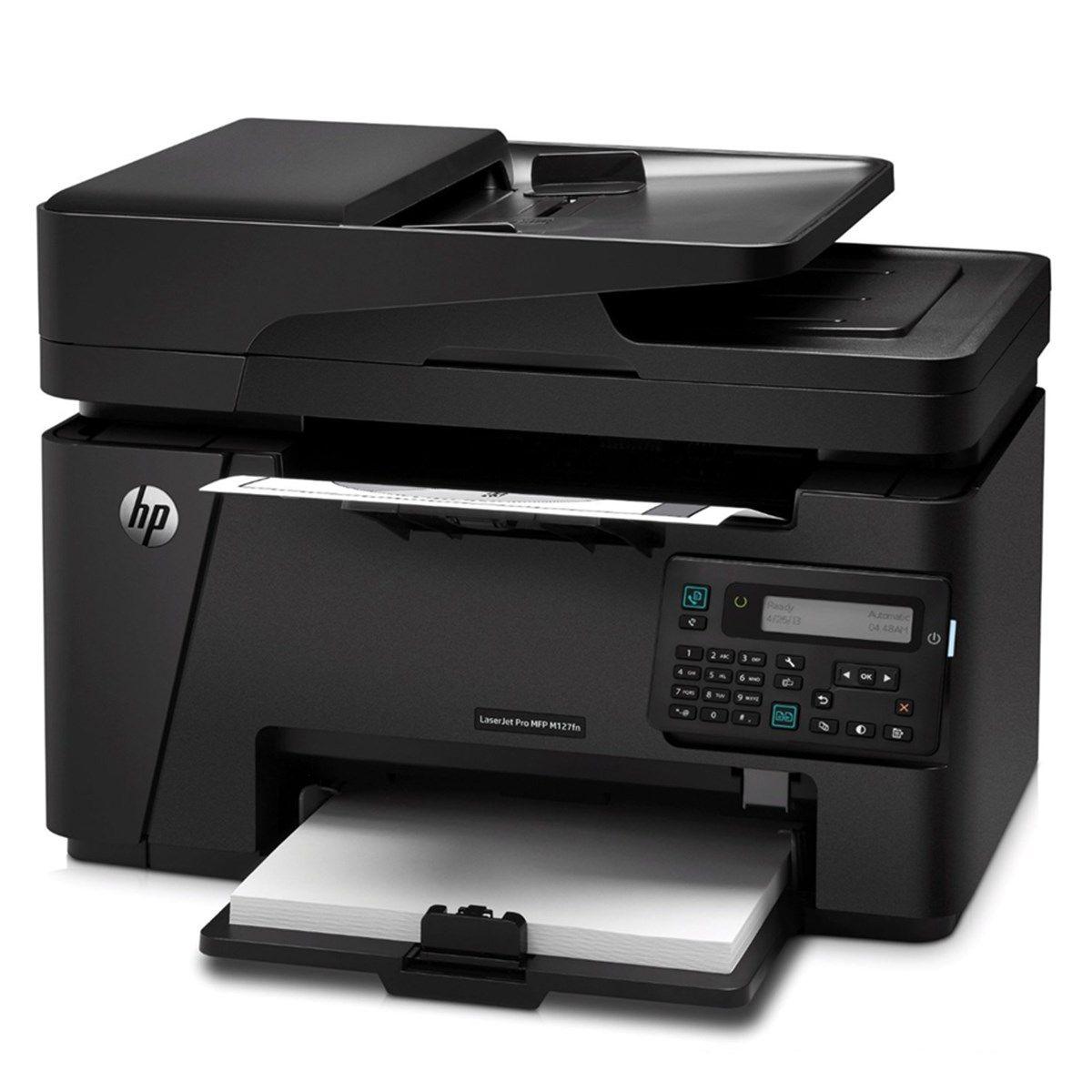 Impressora Hp M127fn M127 Cz181a Laser Pro Multifuncional