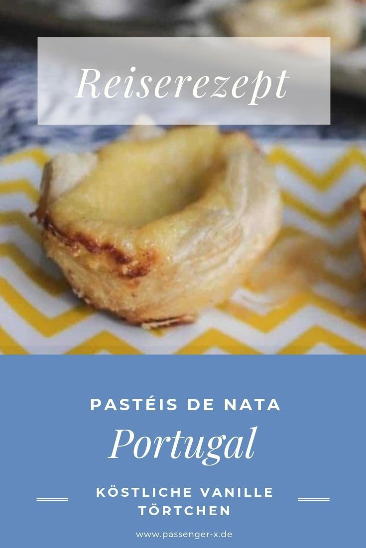 Rezept Pastéis de Nata – Desserts aus der Portugiesische Küche