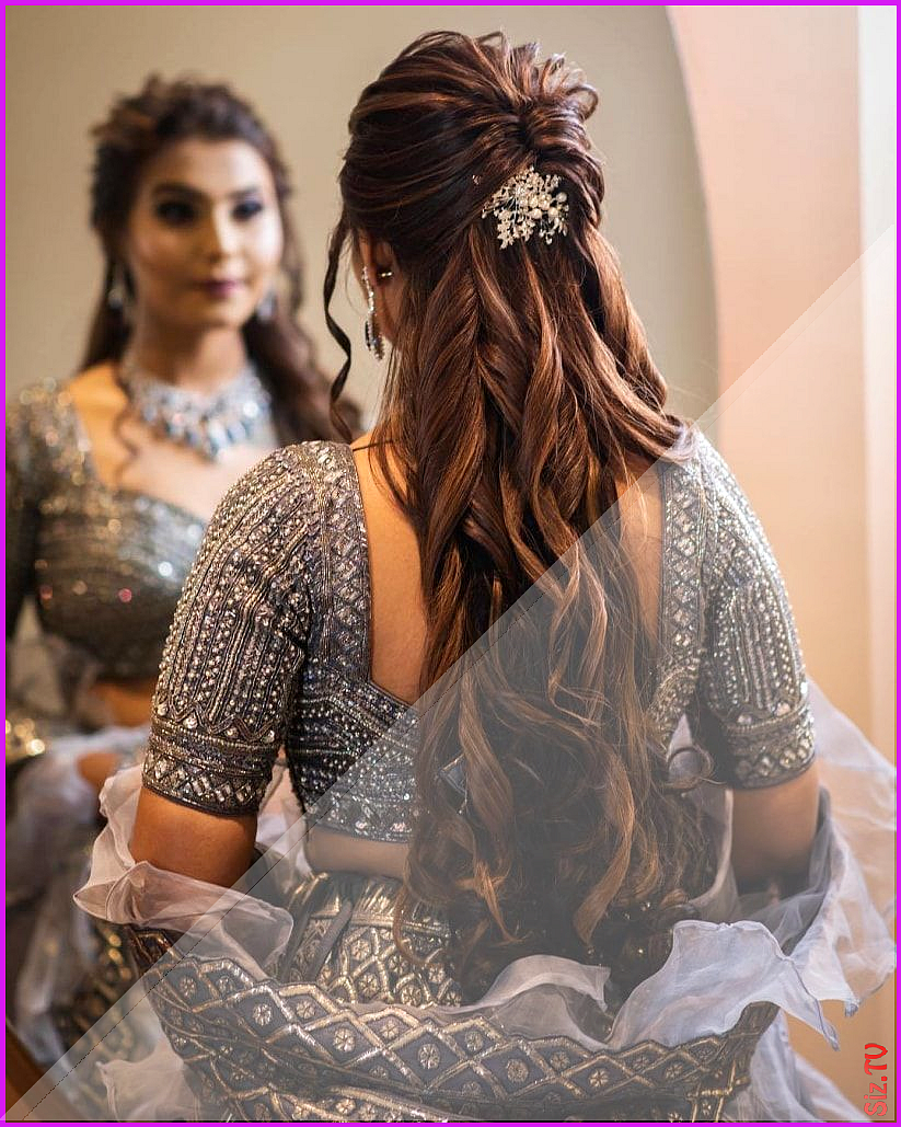 Pin By Bethany Cole On Trend In 2020 Engagement Hairstyles Indian Hairstyles Open Hairstyles