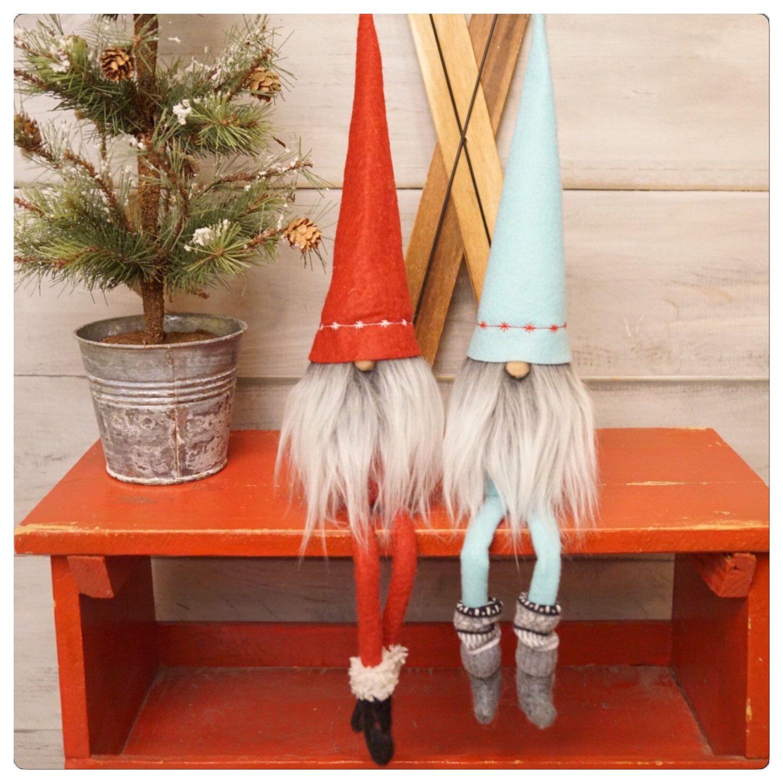Gnome In Garden: Gnome, Tomten, Scandinavian, Gnome Doll, Tonttu