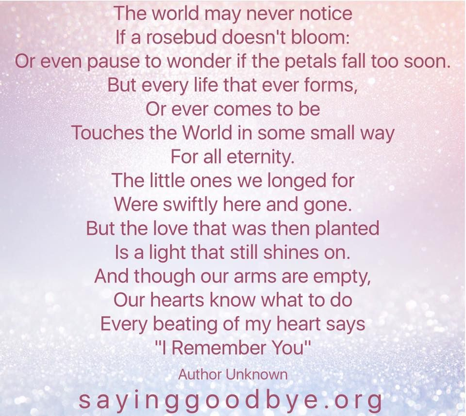 Stillborn Quotes New Baby Loss Quotes And Poems Poemdocor