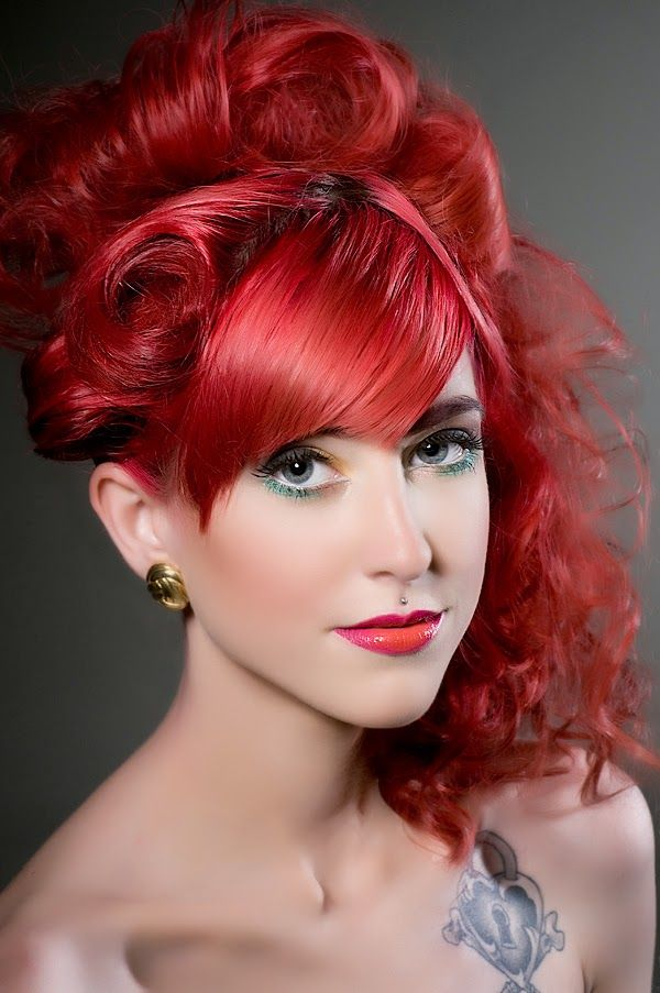 Red Hair Color Ideas Shades Of Red Hair Pinterest Bright Red