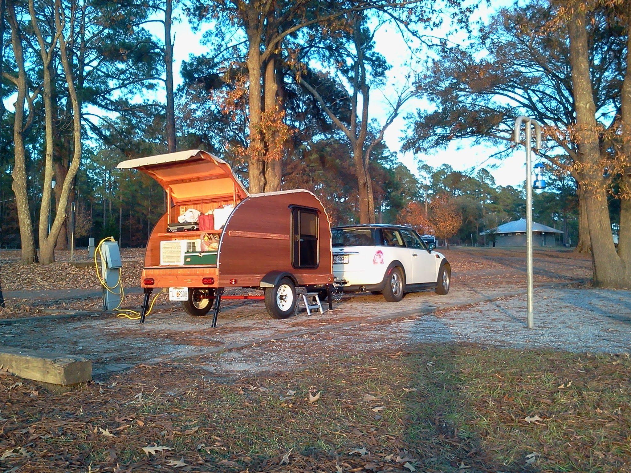 Yong Caroline winter camping in Florida! | Teardrop camper ...
