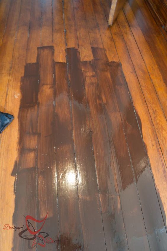 Gel Stain Over Existing Stained Wood Lying