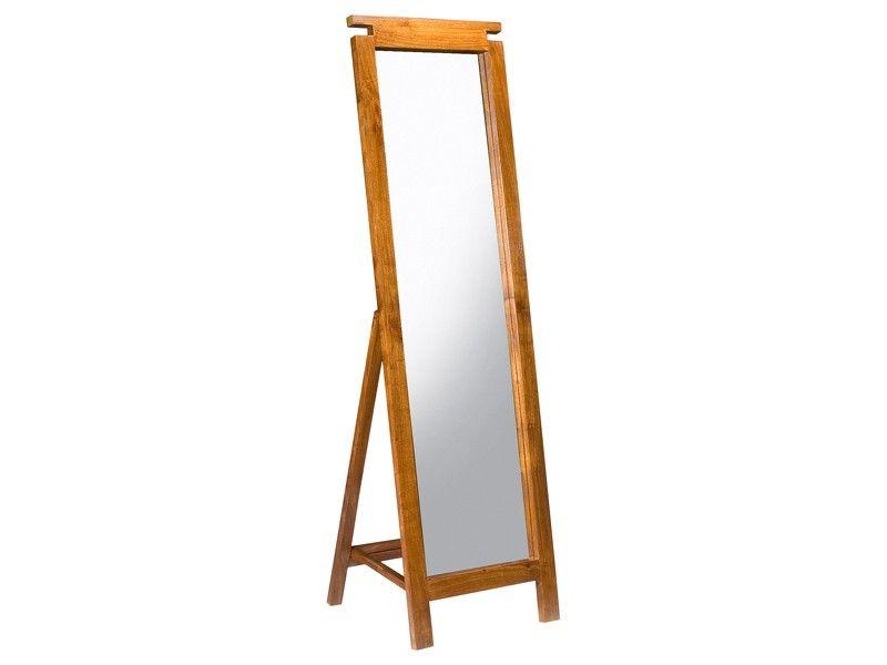 Espejo de pie estilo colonial