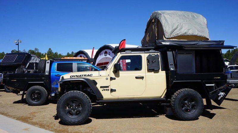 Jeep Gladiator Gets Hellcat Crate Motor Loses Doors In Dynatrac