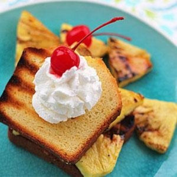 Pineapple Shortcake
