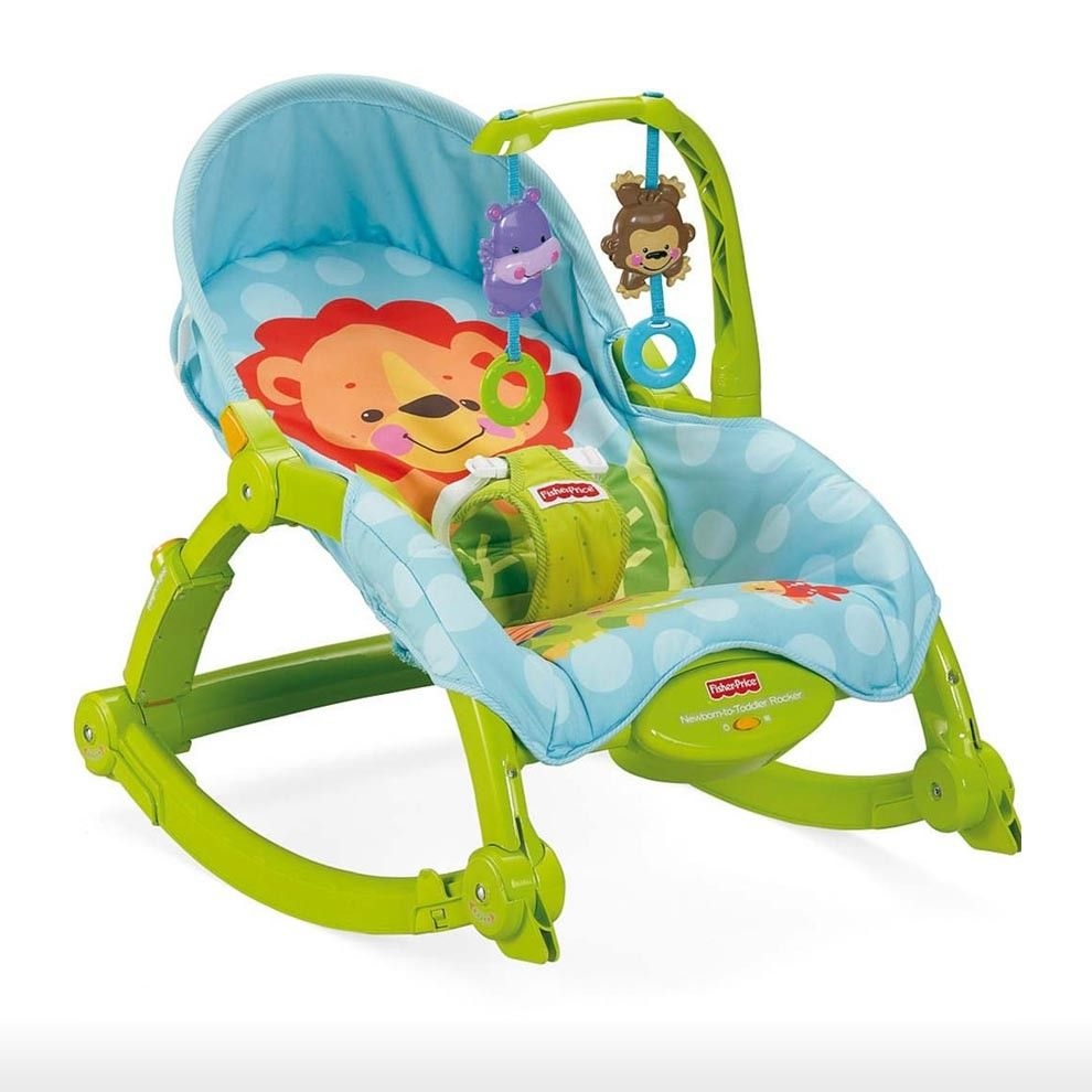 Fisher price toys 0m 3y precious planet newborn to toddler rocker video