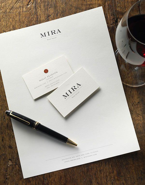 CF Napa Brand Design - Mira Stationery - CF Napa