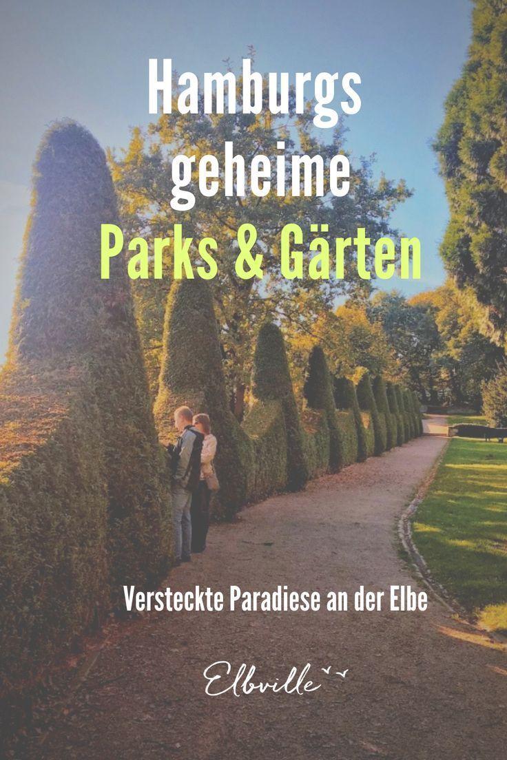 Hamburgs grüne Fluchten: Wo sich geheime Ruheoasen und blühende Paradiese verstecken - Elbville #favoriteplaces