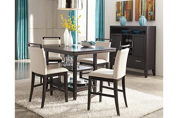 The Trishelle Counter Height Dining Table From Ashley Furniture