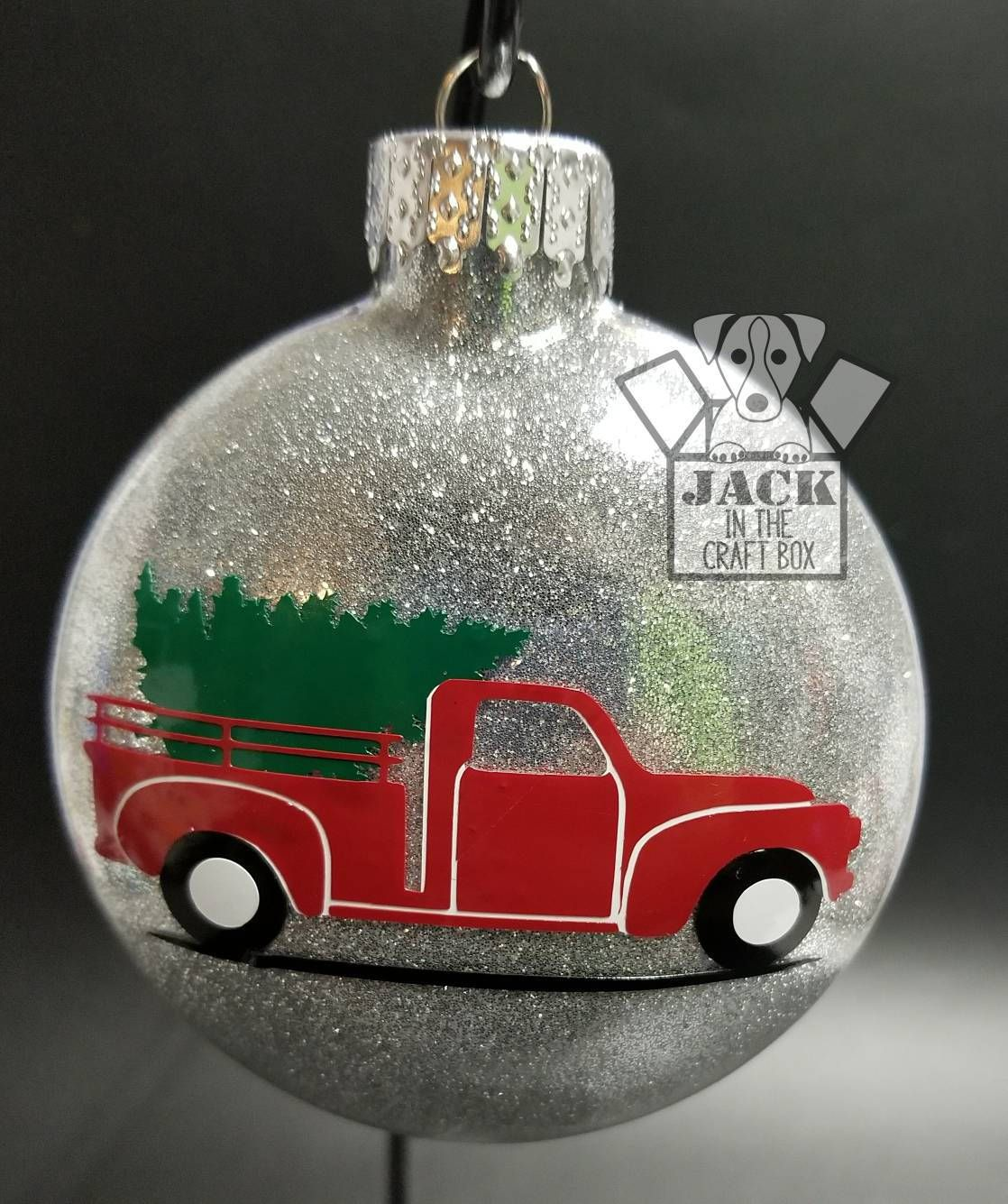 Old Red Truck Ornament Christmas Can Be Personalized Etsy Christmas Ornaments Christmas Ornaments Homemade Painted Christmas Ornaments