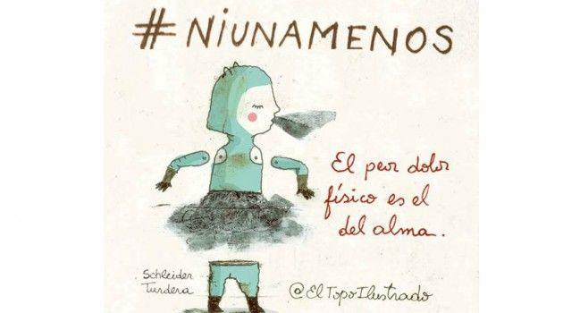 Resultado de imagen de imágenes #niunamenos