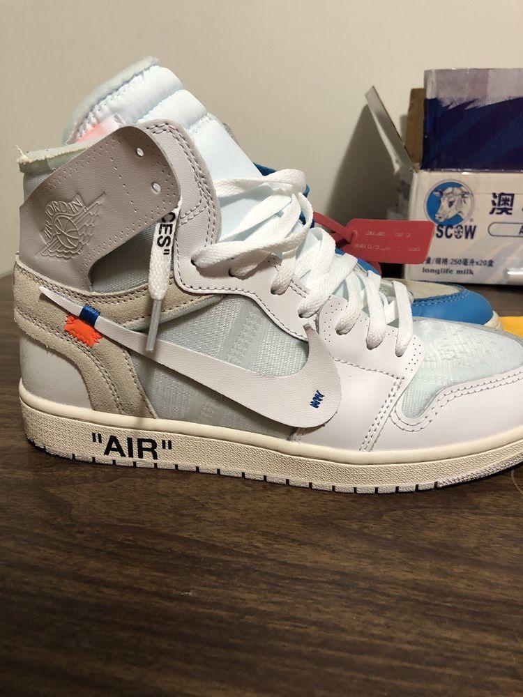 Jordan 1 white, Jordans, Athletic shoes