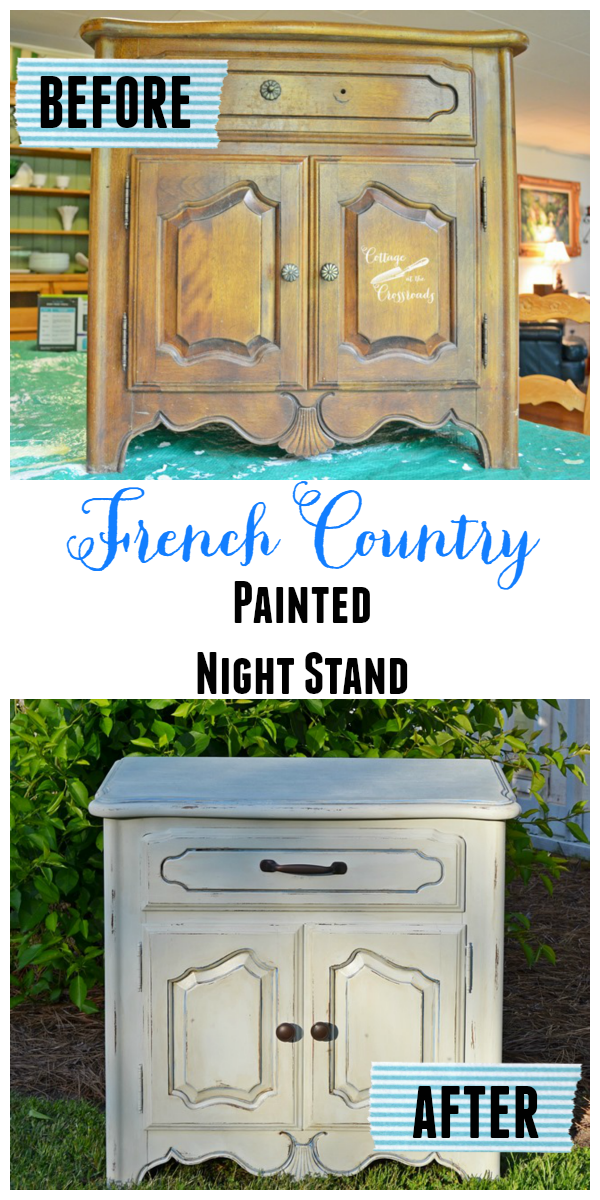 All Things Painted And A Giveaway Painted Night Stands Furniture Makeover Stripping Paint