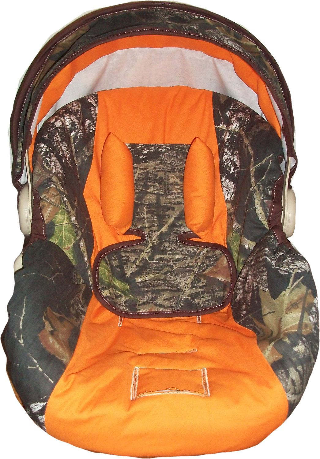 Mossy Oak Camo And Orange Infant Car Seat Cover Most Model 8500 Via Etsy