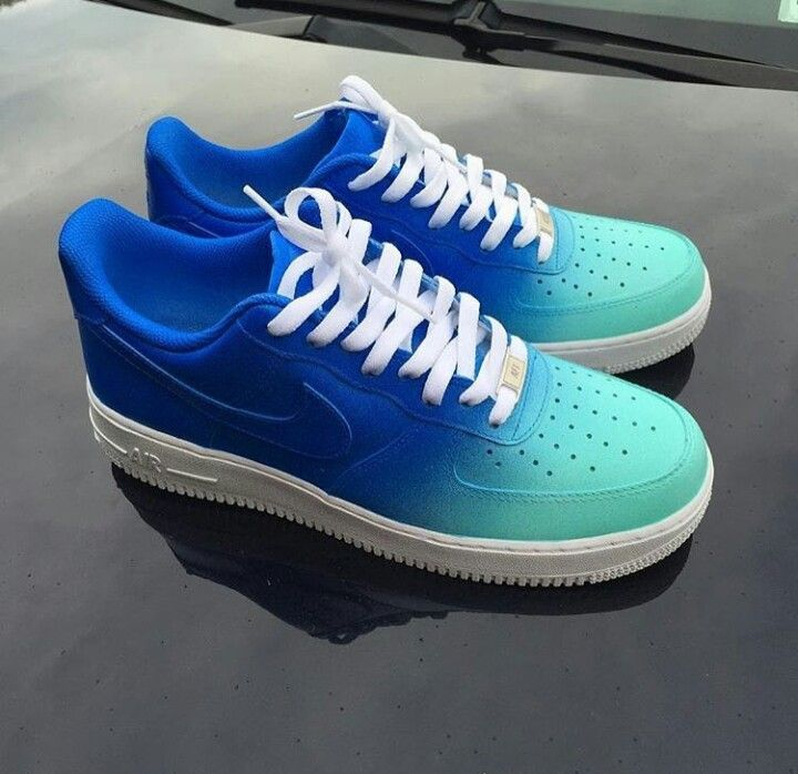 Custom Nike Air Force 1 Low Sapphire x Tiffany by