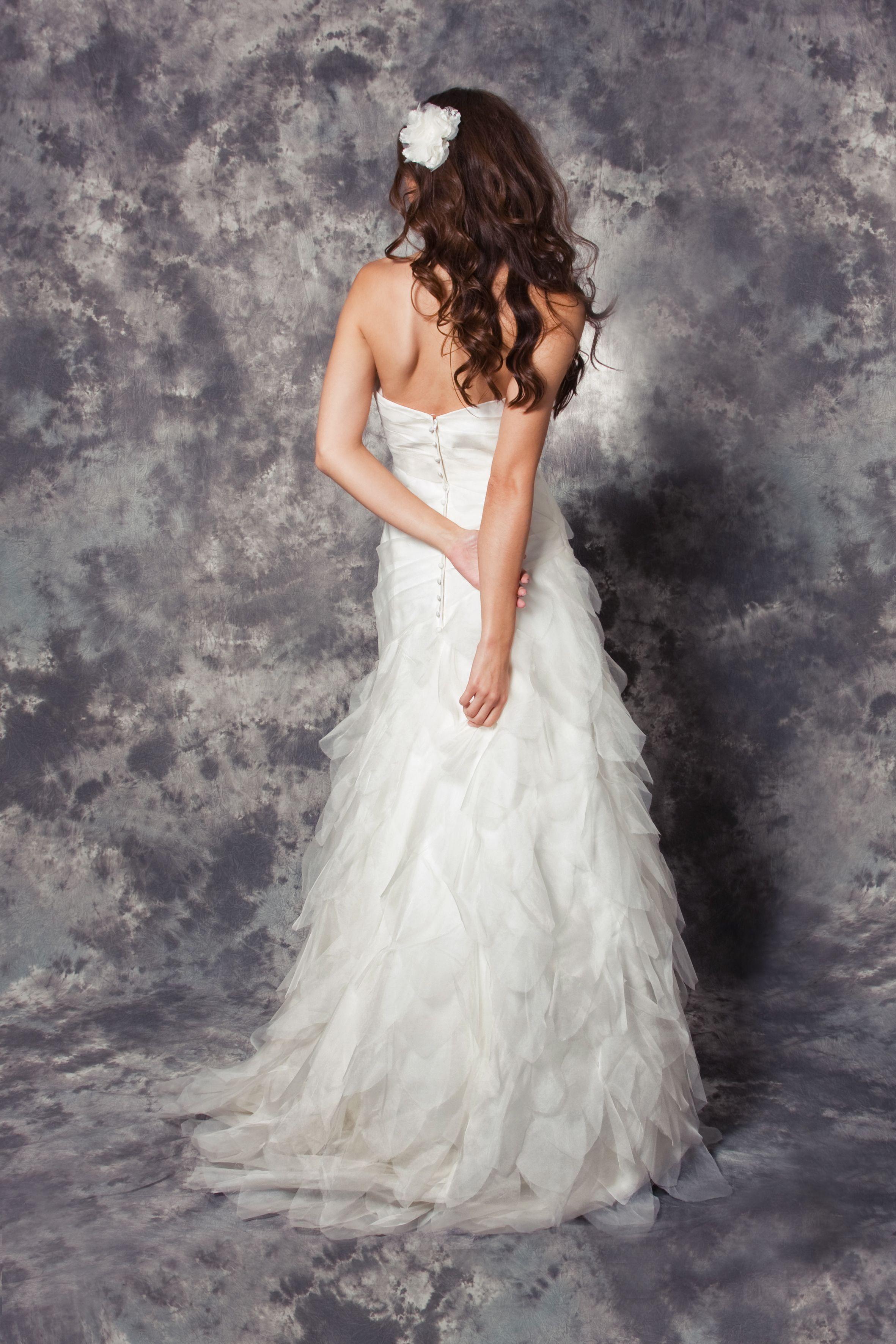 """Felicita Design: Brautkleid """"Ausenda"""" Seide 100% Hochzeit Brautmode Wedding Dress Swan"""