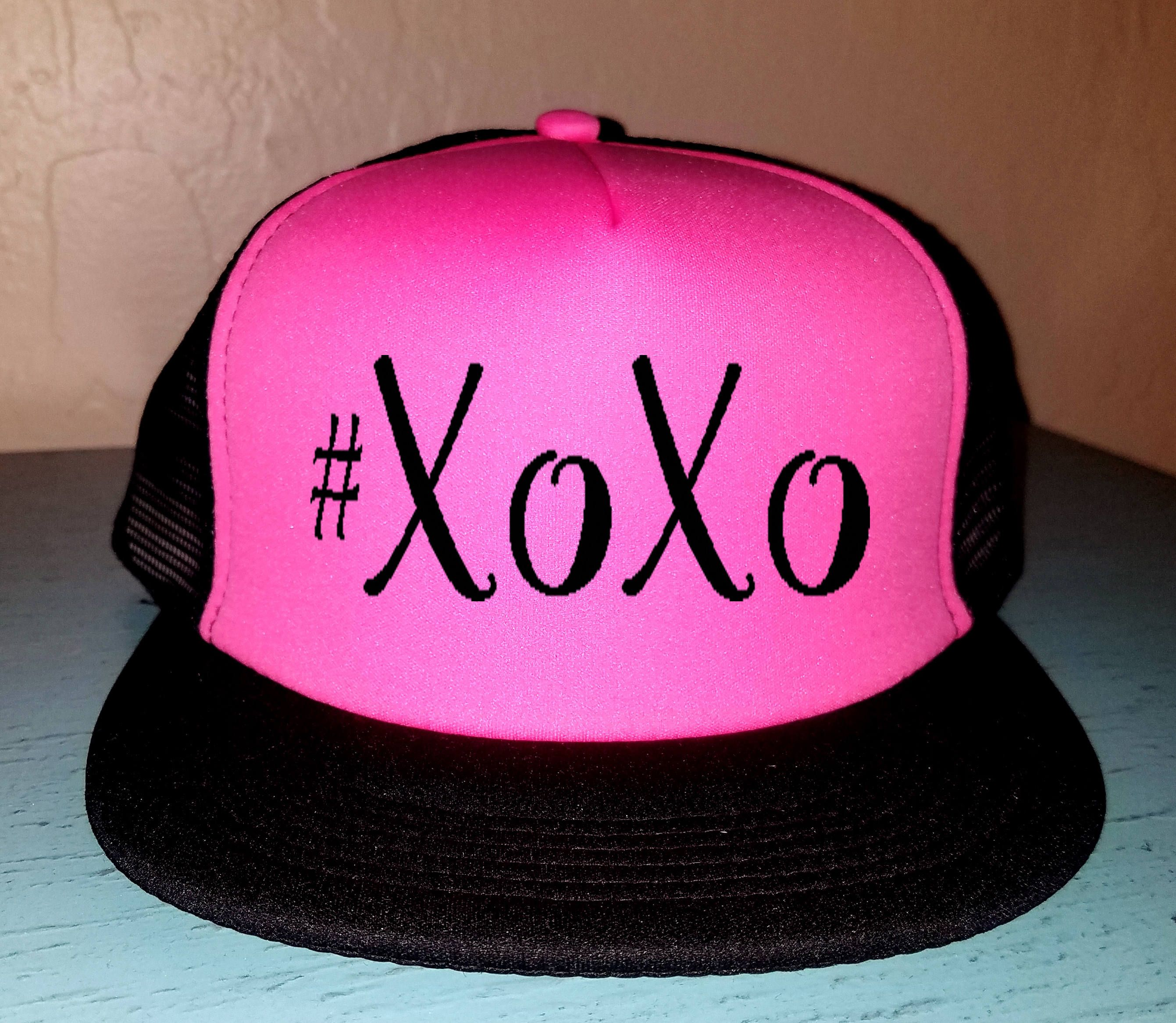 XOXO Trucker Hat Snapback Adjustable Trucker Hat Fit Mom Love Valentine Day  Hat Funny V Day Hat Love Hat Holiday Hat 7a77f6c2354d