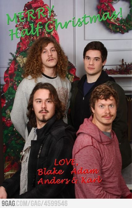 Merry Half Christmas Half Christmas Workaholics Workaholics Quotes