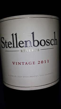 Stellenbosch Ridge Reserve 94 Points Wine Journal Stellenbosch Wine Lovers