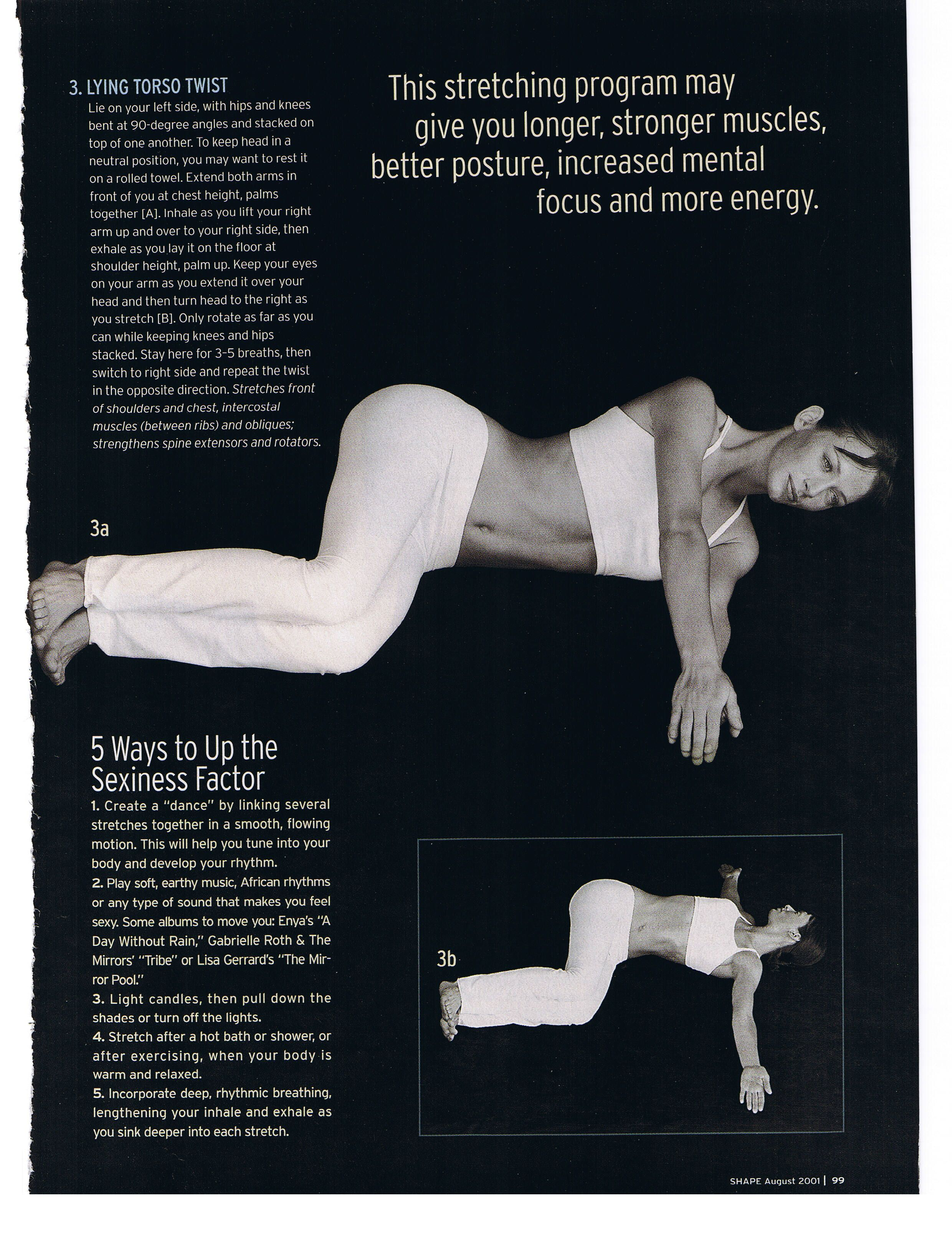 Stretching & Toning Better posture, Strong muscles