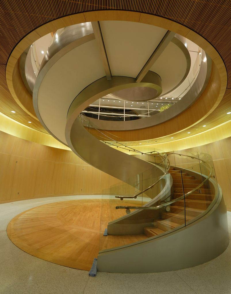 Staircase in the JFSB building at BYU, Provo, Utah. | Architecture ...