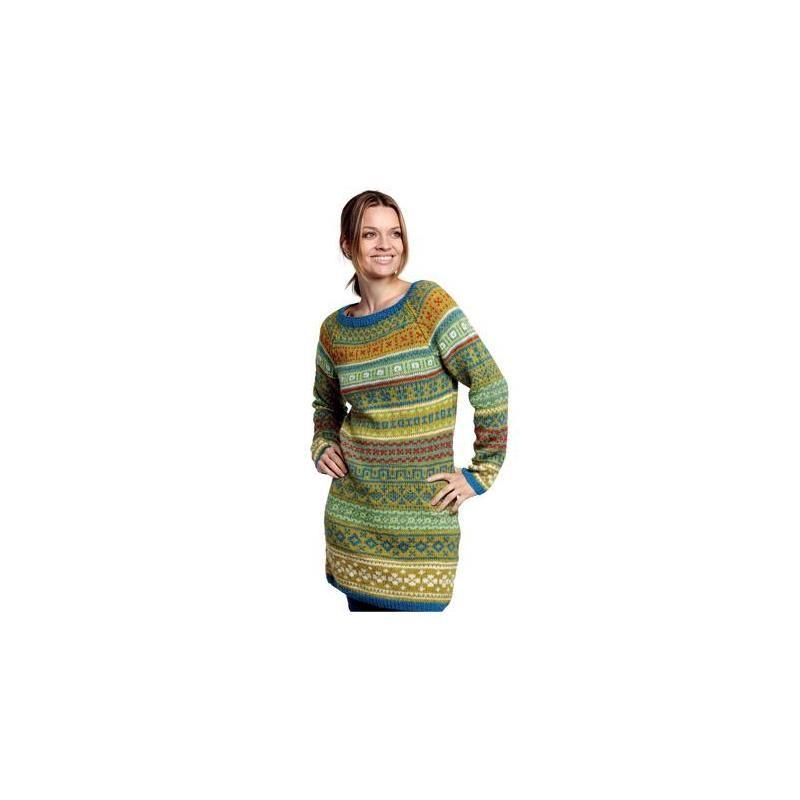 Norsk nettbutikk med Gennemmønstret kjole (2244) - BC Garn - garnpakke. Supergode priser
