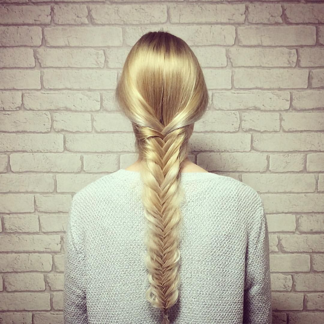 Beautiful Fishtail Braid By Origin Hair And Beauty