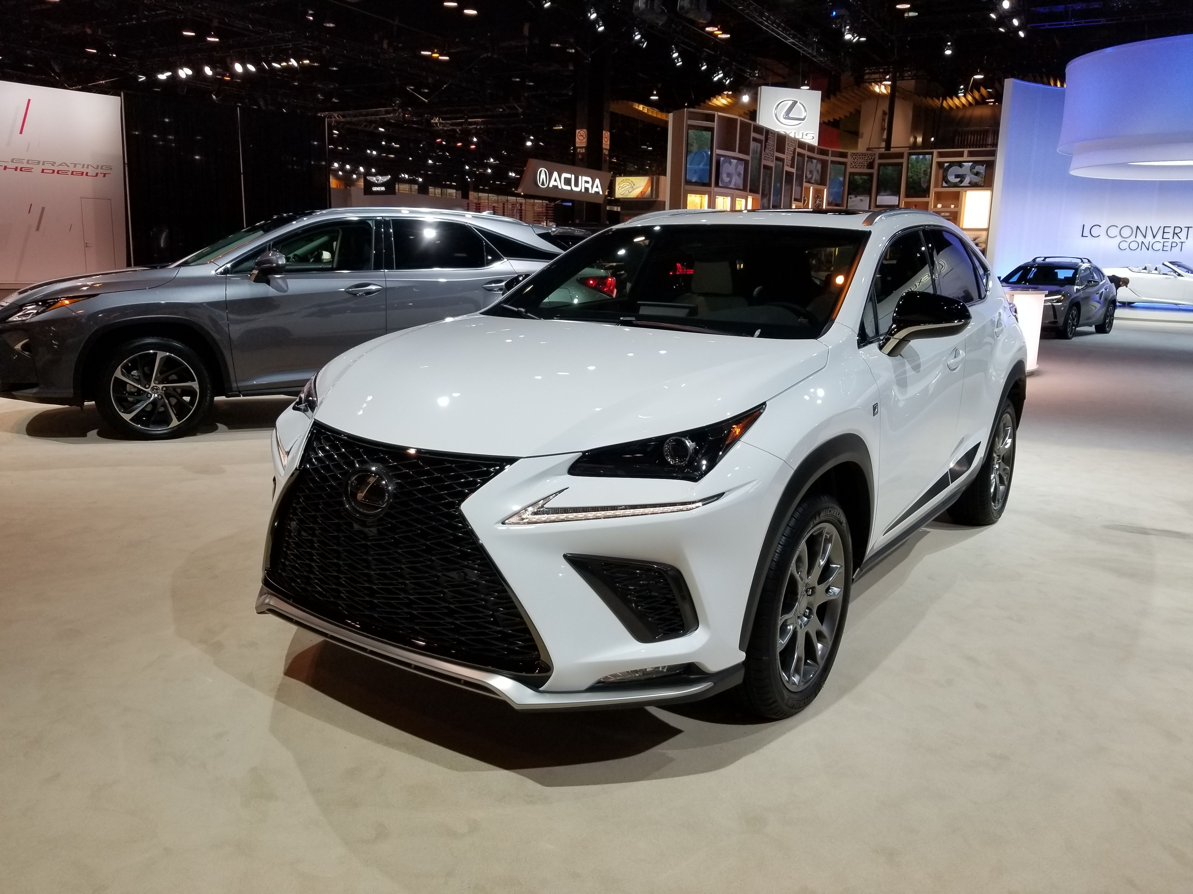 2019 Lexus Nx F Sport Black Line Edition Top Speed Lexus Lexus Nx 200t Luxury Crossovers