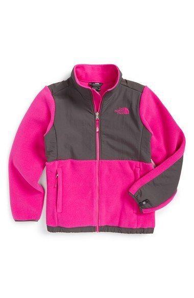 037fec42d North Face Girls Denali Jacket Size L 14 16 Luminous Pink New ...