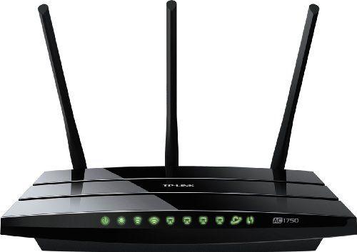Ac1750 11ac 2 4 5ghz Wireless Dual Band Gigabit Router Version 1 Tp Link Http Www Amazon Ca Dp B00busdvbq Dual Band Router Best Router Best Wireless Router