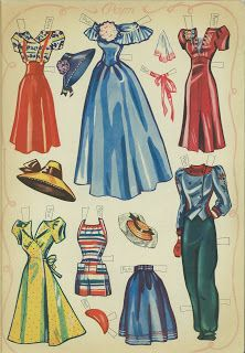 Paper dolls on Parade -- 10 Pages 3