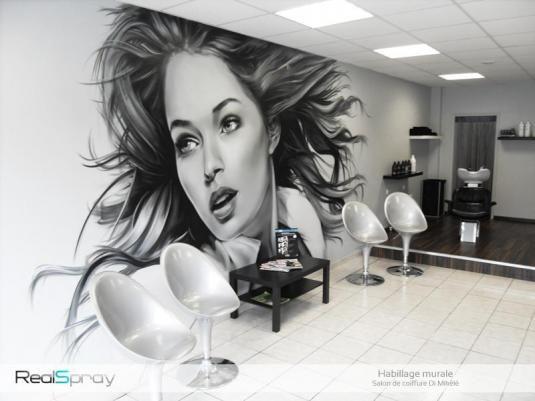 fresque murale trompe l 39 oeil pour la d coration int rieur fresque murale fresque et trompe. Black Bedroom Furniture Sets. Home Design Ideas