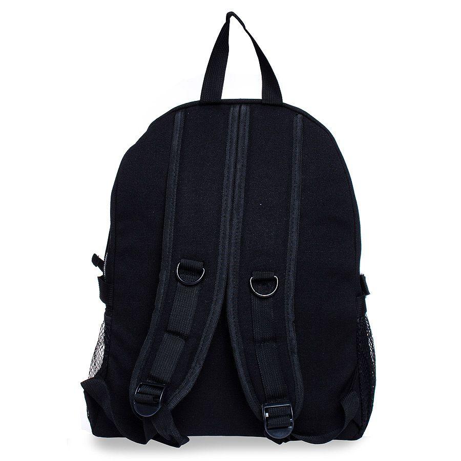 Jawbreaker Skull & Anarchy Studded Backpack (Black)