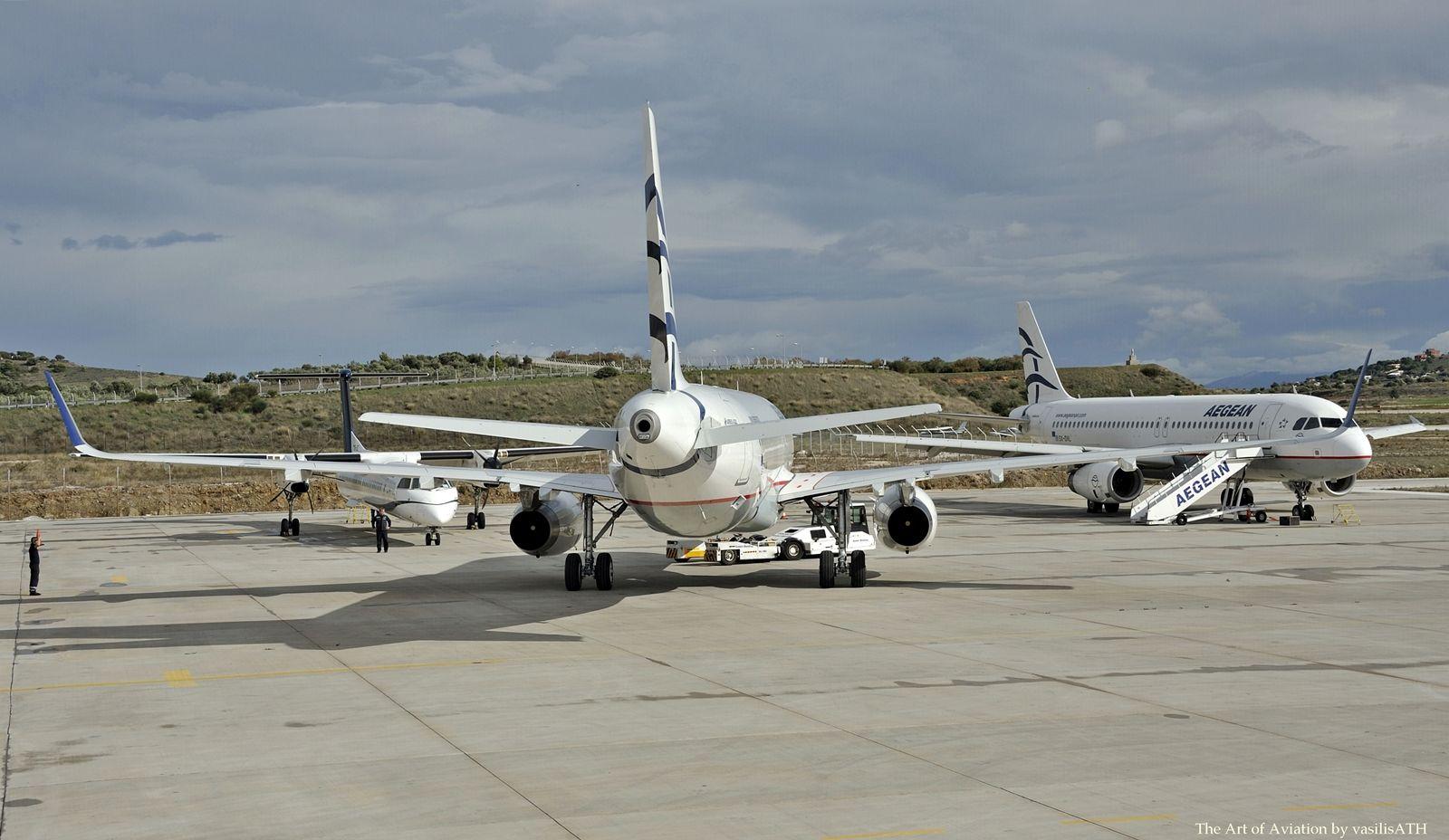 """AEGEAN A320-232(WL) MSN 6832 SX-DNB. Κτήριο 57 Τεχνική Βάση Olympic Air.Athens International Airport """"Eleftherios Venizelos"""" ATH/LGAV"""