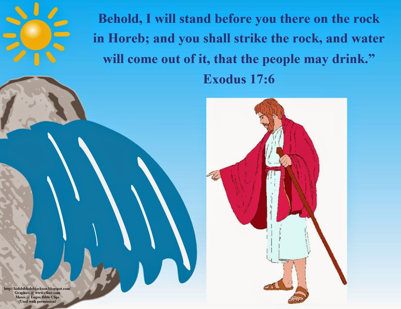 Moses Water From A Rock Amp Victory Over Amalekites