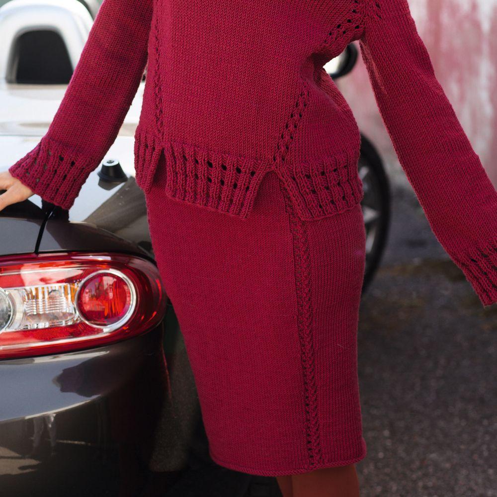 схемы вязания зимняя юбка крючком